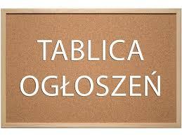 tablica ogłoszeń